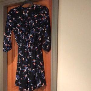 Lush floral short dress